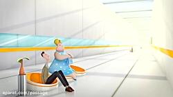 انیمیشن کوتاه و بامزه و خنده دار لاغری و کاهش وزن