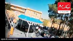 فیلم اختصاصی فراری دادن سارق از بیمارستان امام و لحظه دستگیری