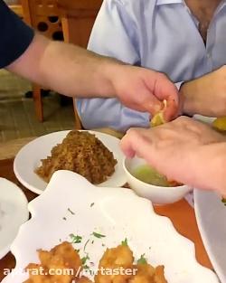 روش های طبخ ماهی رستوران یحیی
