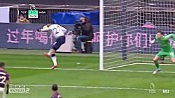 خلاصه بازی تاتنهام 1- نیوکسل 0 - لیگ برتر انگلیس