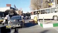 ↩ تعقیب و گریز و شلیک دیدنی پلیس به سارق خودرو در اتوبان تهران ↪