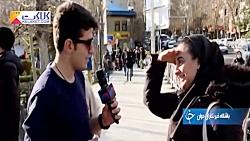 پاسخ جالب مردم به خبرنگار خارجی؛ ایران قدرت نظامی دارد؟