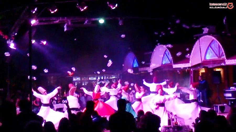 شب های ترکیه و رقص سماع