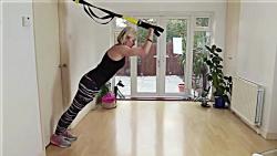 ورزش تی آر ایکس در خانه - 5 حرکت موثر trx در خانه