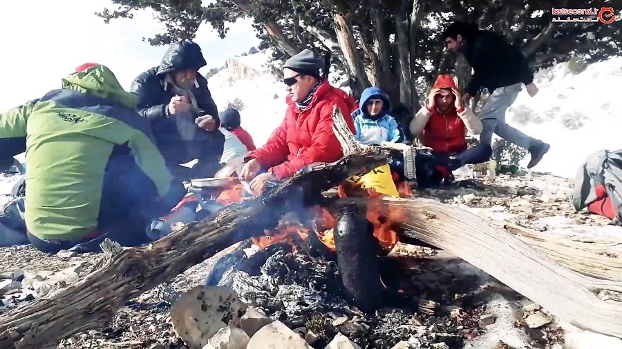 قله قُرخود، بهشتی برای کوهپیمایی زمستانی