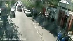 فیلم فراری دادن زندانی از بیمارستان که توسط سارقان مسلح و خشن تهران