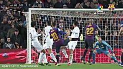 خلاصه و گل های بازی بارسلونا 2-2 والنسیا