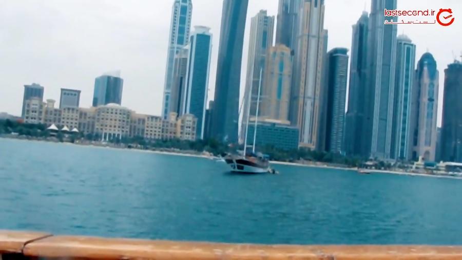 گشتی در لاکچری ترین منطقه دبی