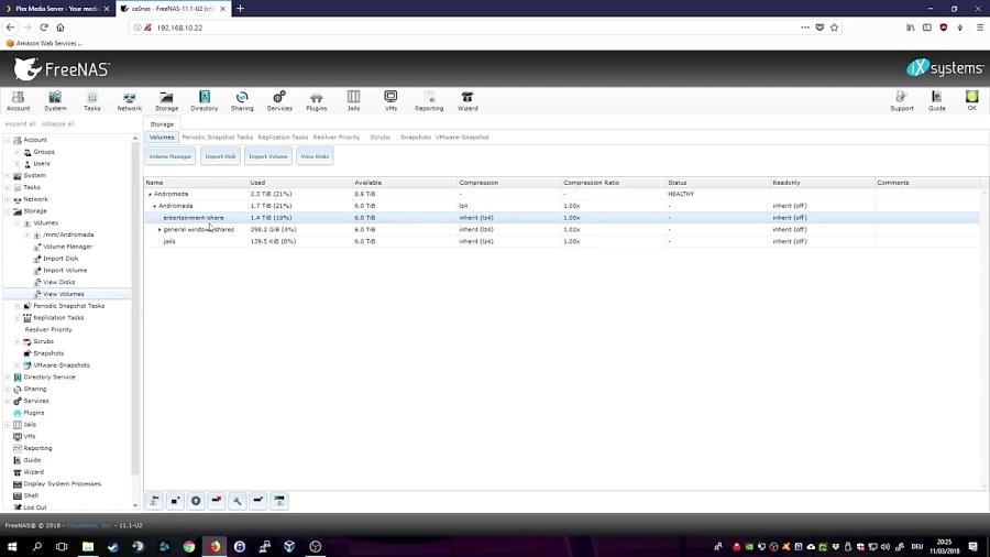 How to install Plex on FreeNAS 11 1 Step-by-step