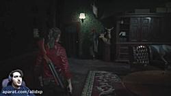 پارت دهم بازی رزیدنت اویل 2 این دوباره اومد | resident evil 2 remake part 10