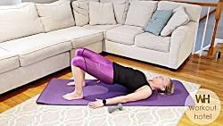 ورزش تی آر ایکس در خانه - تمرینات کوچک کردن شکم بانوان