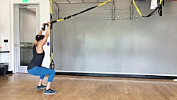 ورزش تی آر ایکس در خانه - trx در منزل برای بانوان