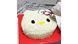 ویدیوی خوشمزه - کیک آرایی - آموزش تزیین چند کیک تولد