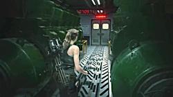گیم پلی بازی Resident Evil 2 REMAKE Claire Story - پارت 15 قسمت آخر