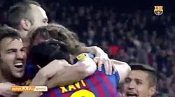 بهترین گلهای بارسلونا مقابل رئال مادرید در جام حذفی