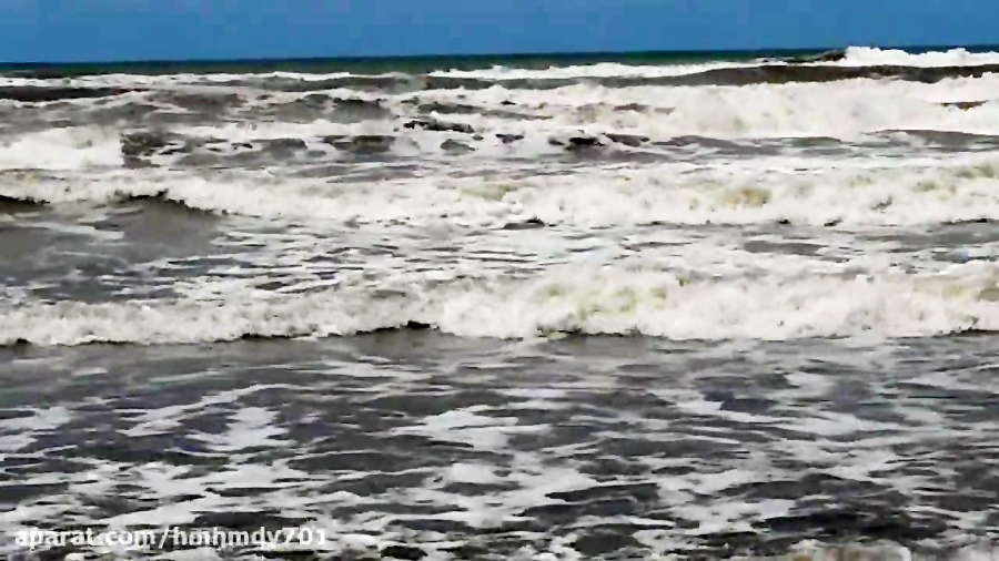 نمایی از دریای خزر