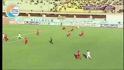 خلاصه بازی سپیدرود ۲-۲ سایپا (لیگ برتر ایران 97 98)