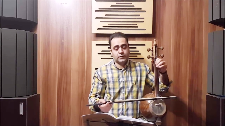 تمرین ۱ کتاب هنرستان چهارم روحالله خالقی ایمان ملکی کمانچه