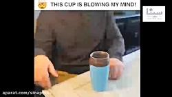 با این لیوان دیگر نوشیدنی شما روی میزکار شما نخواهد ریخت