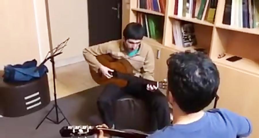 محمدعلی فتحعلیان گیتار تمرین پیكادو اثر فرزین نیازخانى