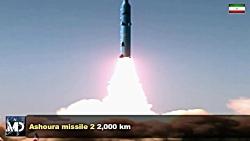 قدرت موشکی ایران 2019