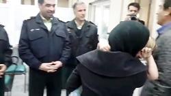 لحظه بازگشت دخترک ربوده شده به آغوش پدر و مادر