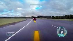نمایش اطلاعات خودرو و رقیبان روی شیشه جلوی جگوار