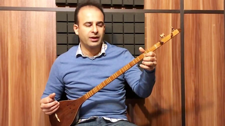 دانلود فیلم آموزش ترکمن حسین علیزاده آوانگاری و اجرا با سهتار نیما فریدونی