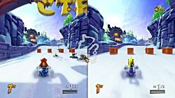 Crash Team Racing: Nitro Fueled- split screen race