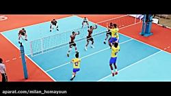 بازی والیبال برای ویند...