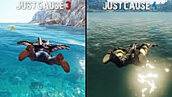 Just Cause 4 vs Just Cause 3
