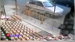 اولین ویدئو از سرقت مسلحانه طلافروشی در ایذه