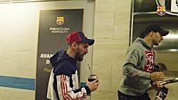 پشت صحنه بازی بارسلونا 1-1 رئال مادرید