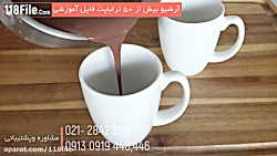 طرز تهیه بهترین شکلات داغ خانگی-Hot Chocolate
