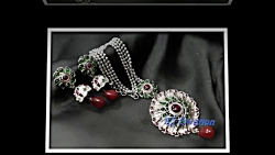 New Silver Pendent Set Jewelry Design