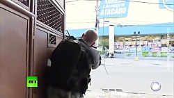 Shootout in broad daylight between Brazilian police and drug