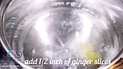 آب زنجبیل و لیمو برای کاهش وزن سریع