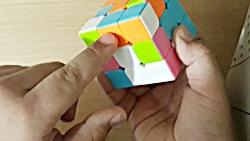 آموزش حل کردن مکعب روبیک