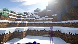 انیمیشن ادمک ها در ماینکرافت - انیمیشن ماینکرافت -