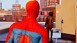 گیم پلی جدید بازی مرد عنکبوتی spiderman با زیرنویس