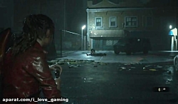 Resident Evil 2 Remake کلیر و تایرانت