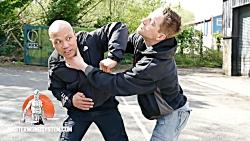 آموزش دفاع شخصی (خفه کردن)