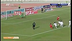 خلاصه بازی فولاد 2 پرسپولیس 1 - لیگ برتر ایران