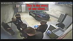 +13 | 6 افسر پلیس مرد آمریکایی مقابل زن دستبند به دست