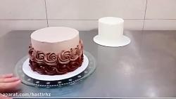 کیک،امورش اشپزی،دیزاین کیک،خودتان در خانه کیک بپزید و لذت ببرید