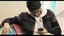 اجرای موسیقی زنده در فرودگاه مهرآباد و همراهی مسافران