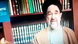طرفداری محمدخاتمی از روحانی و جواب سوزناک نصیری از قرچک به خاتمی بهمن 97