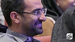 حسن ریوندی جدید - شوخی با وزیر ارتباطات