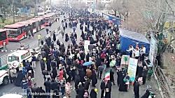 راهپیمایی پر شکوه 22 بهمن 1397 در شهرری