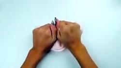 آموزش ساخت اسلایم پفکی (کپی به شرط دنبال)